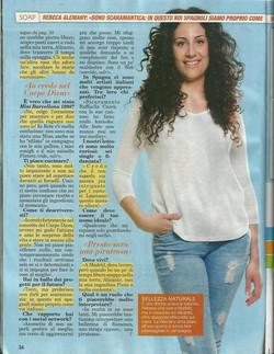 Entrevista revista italiana a Rebeca Alemañy