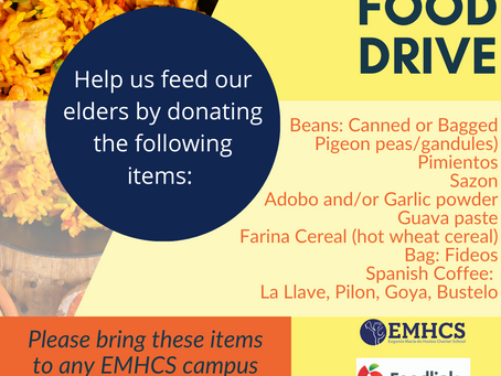 Support Our Hispanic Food Drive