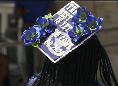 Featured in Spectrum News: Eugenio María de Hostos Charter School Hosts First Graduation Ceremony