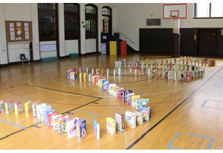 Kindergarteners Collect More than 140 Cereal Boxes to Benefit Bethany House