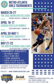 Swish-Teammate Basketball Spring Tournament Series