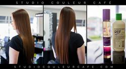 coiffure teinture brune