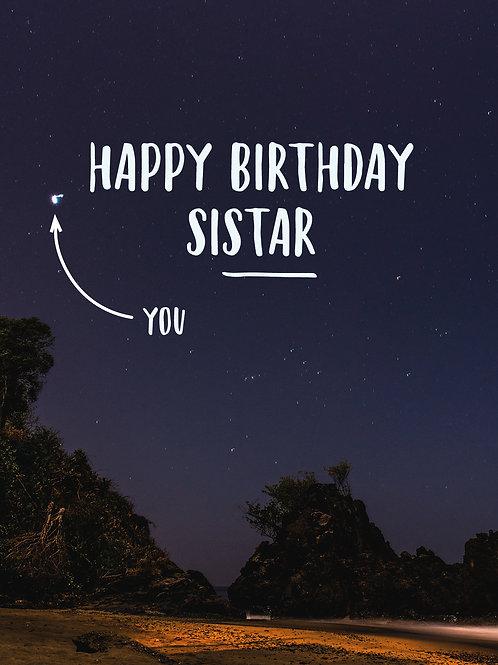 Happy Birthday Sistar!