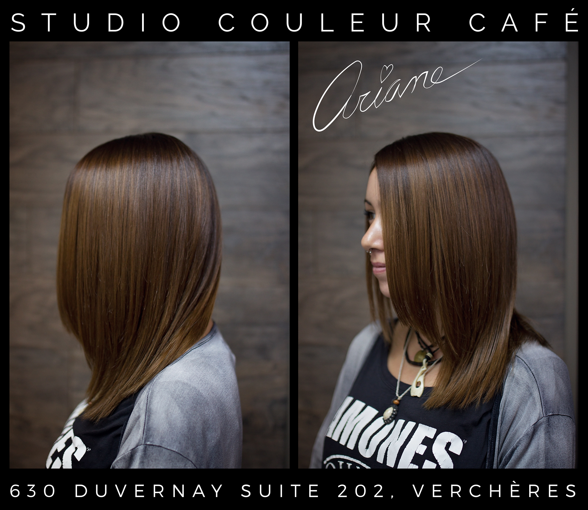 coloration brune