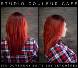 coloration rouge