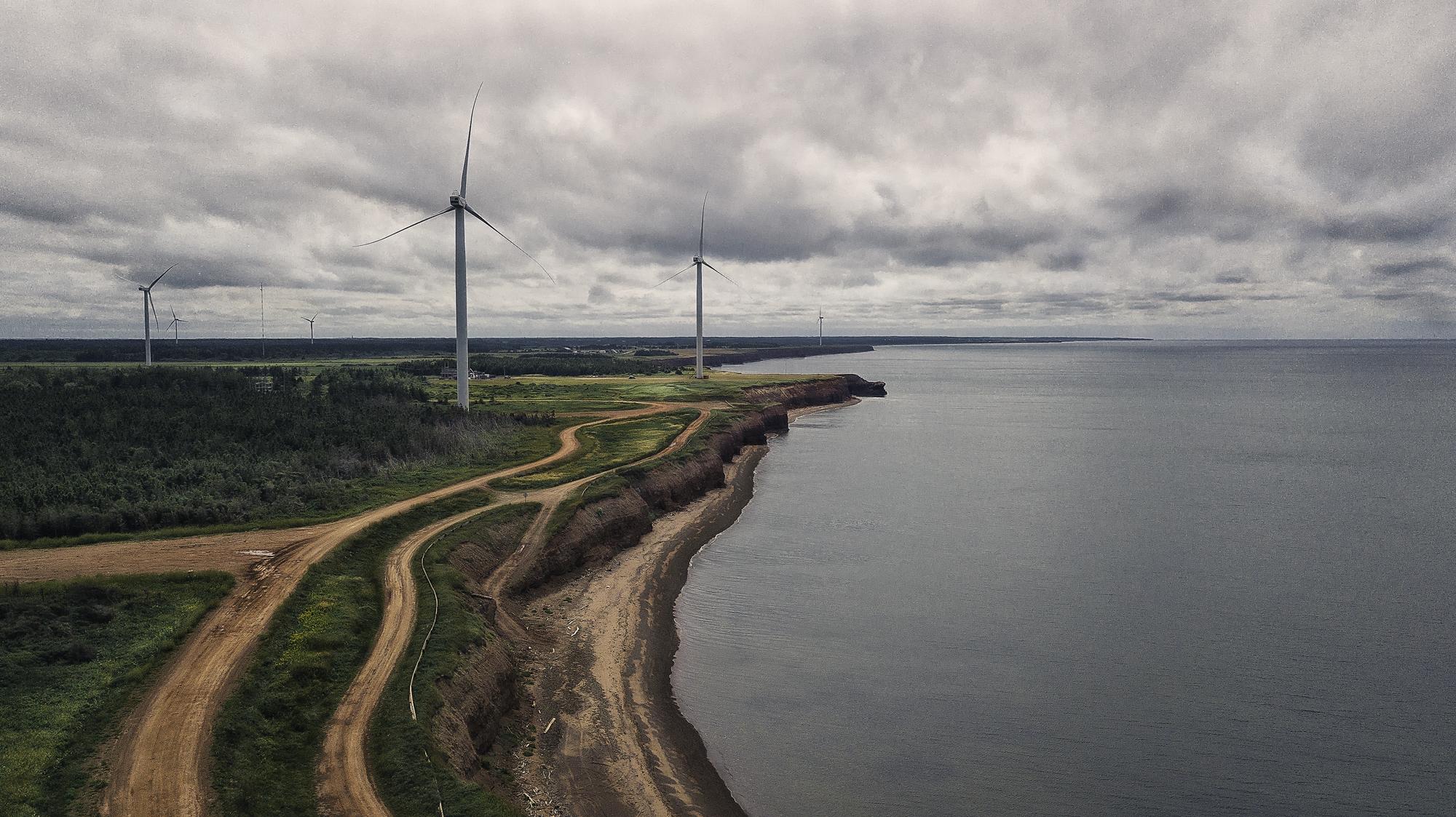 éolienne drone uav