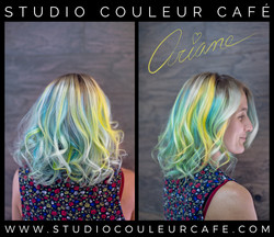 coloration yellow menthe jaune