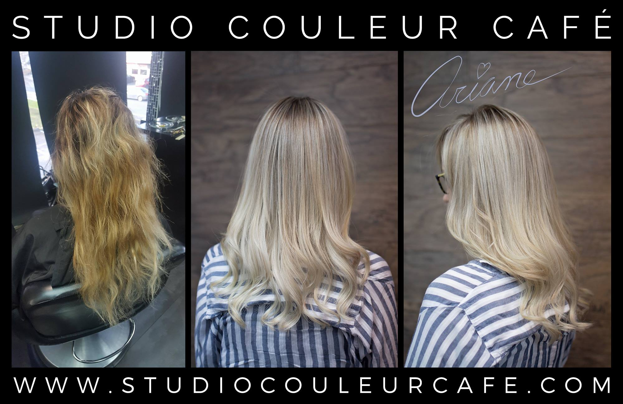 blonde platine coloration