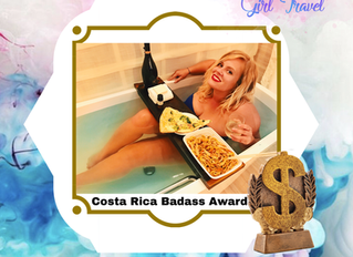 BAGT Award: The Costa Rica Badass Award!