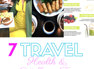 7 Travel Health & Wellness Tips with Auntie Ambam