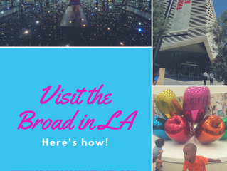 Visit the Broad in LA, here's how...