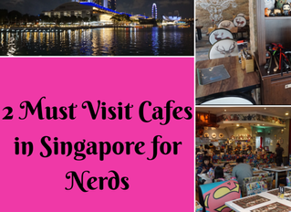 2 Must Visit Cafes in Singapore for Nerds