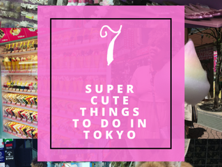 7 Super Cute things to do in Tokyo!