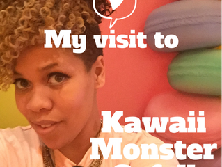 Kawaii Monster Cafe in  Tokyo Japan