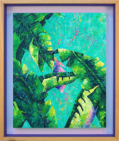 ketupat and sirap bandung, Mishell Leong Art