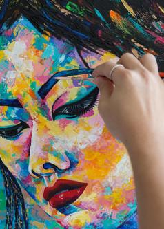 Mishell Leong, Sasha, Sensual Art