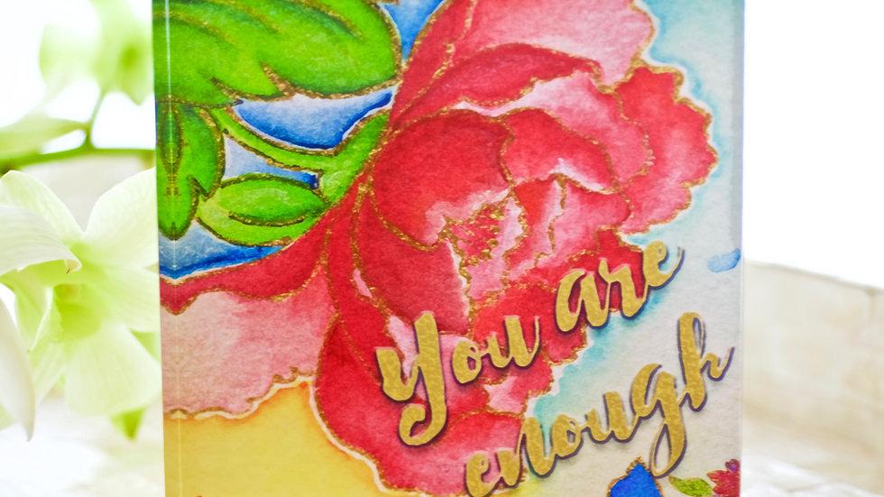 'You are Enough' Acrylic Art Block