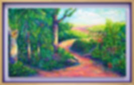 the path, mishell leong art