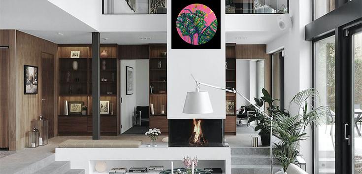 Tropical Awakening_fireplace