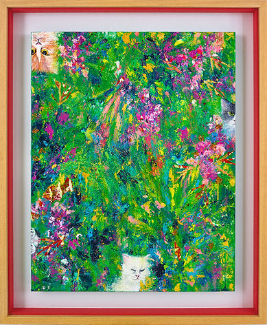 awful cats_2019_mishel leong, botanicals