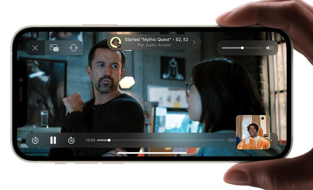 facetime link, shareplay ios15, shareplay nedir? shareplay nasıl çalışıyor, teleparty iphone, netflix party app, netflix party telefonda kullanma