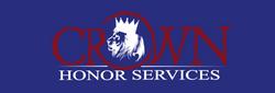Crown H Services_BURGUNDY & WHITE on blue Shirt Sample