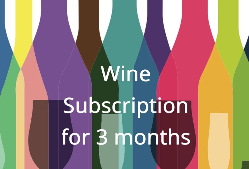 3 Month Wine Subscription