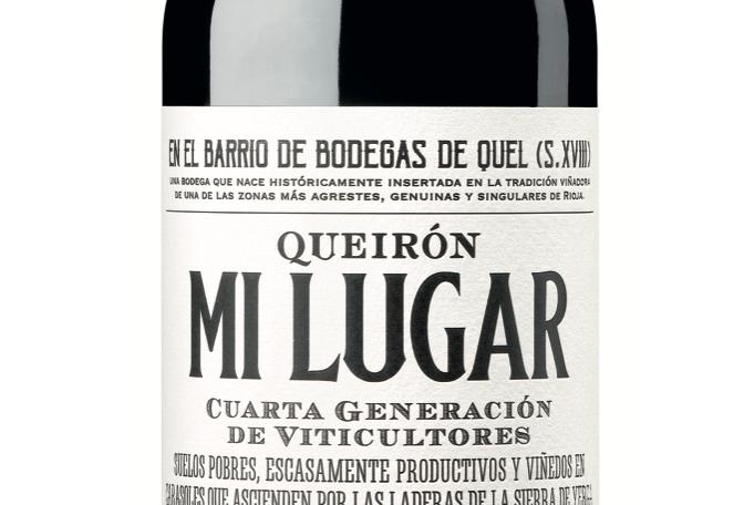 Bodegas Ontañón, Queirón Mi Lugar, Rioja 2017