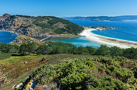 Cies Islands, National Park Maritime-Ter