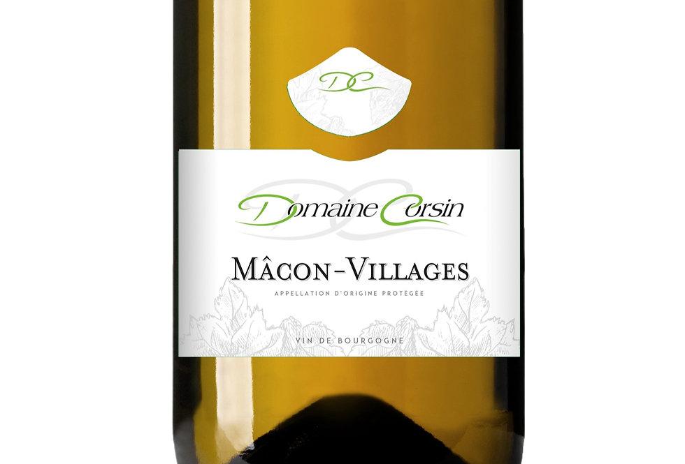 Domaine Corsin, Mâcon-Villages 2018