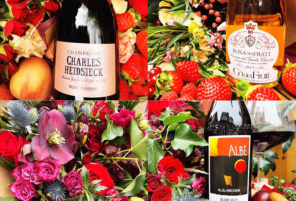 Flowers & Wine for Days...