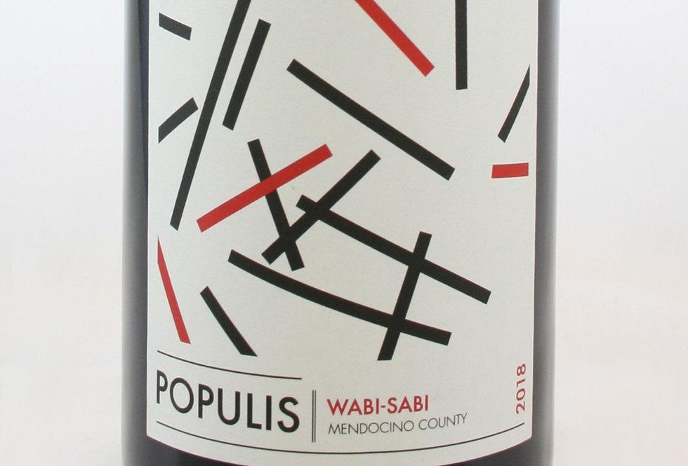 Populis, Wabi-Sabi 2018
