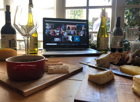The Beauty of Virtual Wine Tastings