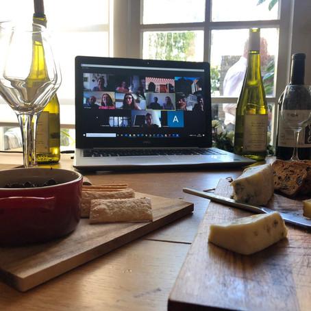 The Beauty of Virtual Wine Tastings