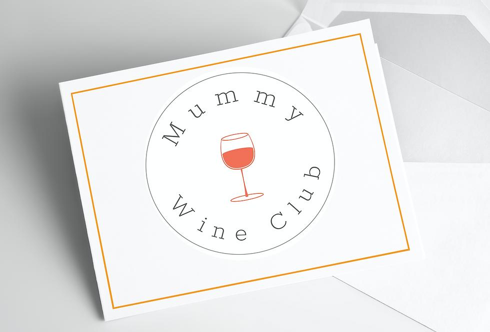 £95 Mummy Wine Club Gift Certificate