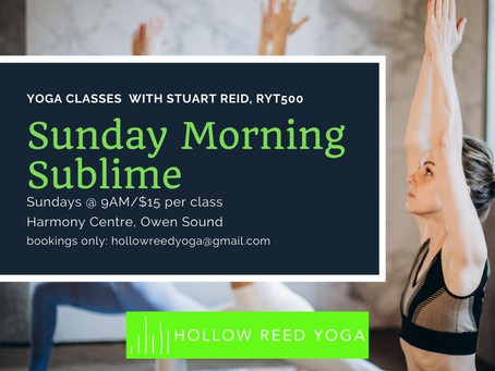 Socially-distanced yoga classes offered at Harmony Centre Owen Sound