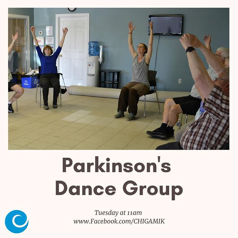 Parkinson's dance and movement class