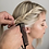 """Thumbnail: Pink Pewter """"Never Let Go"""" Carbon Fibre Styling Comb"""