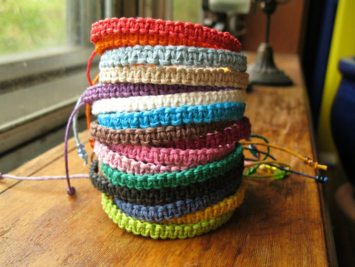 How to make Hemp Macrame Jewellery in 10 simple steps? [With Pictures]