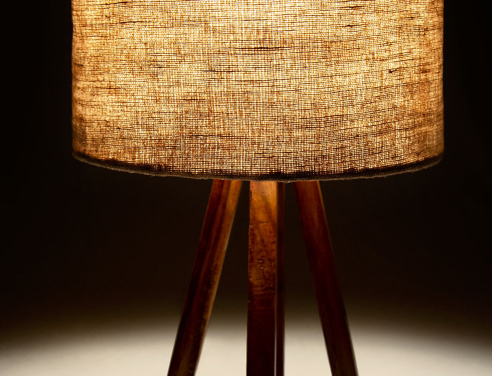 Hemp Lampshade (Natural)