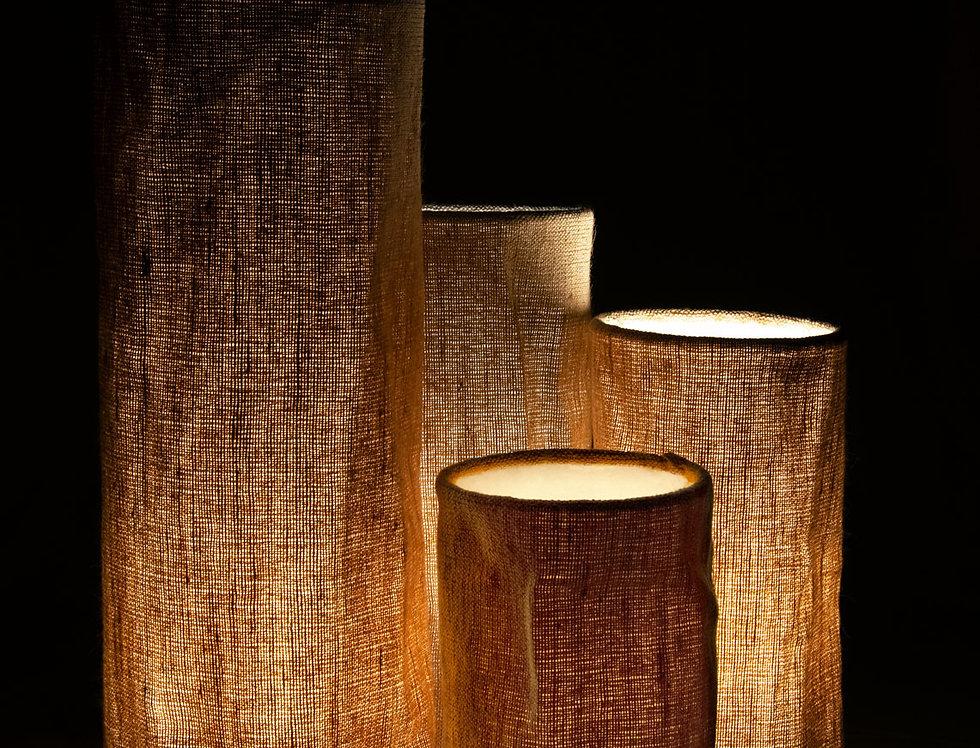 Hemp Lampshade (Cylindrical)