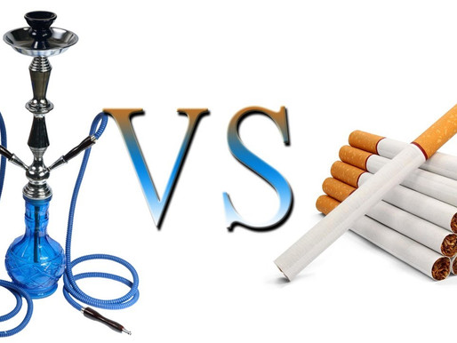 Smoking Hemp Hookah vs. Cigarettes: Which is better?