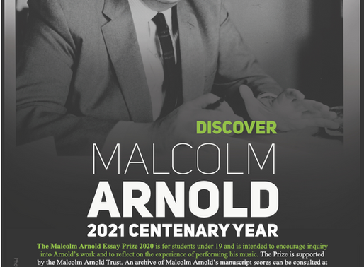 The Malcolm Arnold Essay Prize 2021