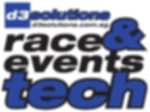 d3 solutions race and events tech logo