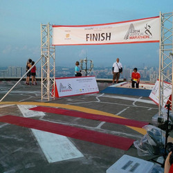 vertical marathon rfid timing system