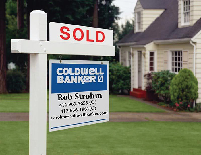 Rob Strohm for Coldwell Banker REal EState Pittsburgh