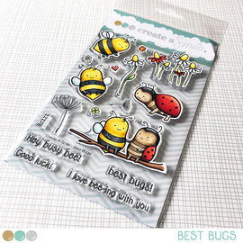 Best Bugs clear stamps Create a smile