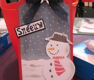 Sneeuwpop werkbeschrijving