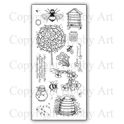 Busy Bees Hobby Art Clear stamps