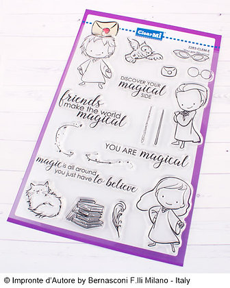 Clear stamps  A5 You are Magical